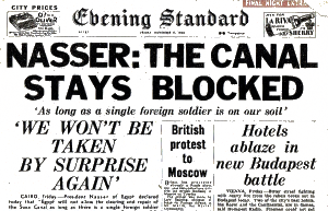 1956 newspaper headline